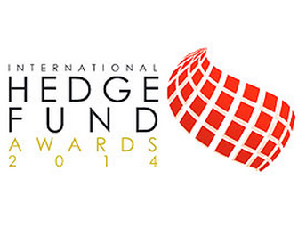 Logo of award for 'International Hedge Fund Awards 2014'