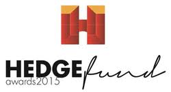 Logo of award for 'Hedge Fund Awards 2015'