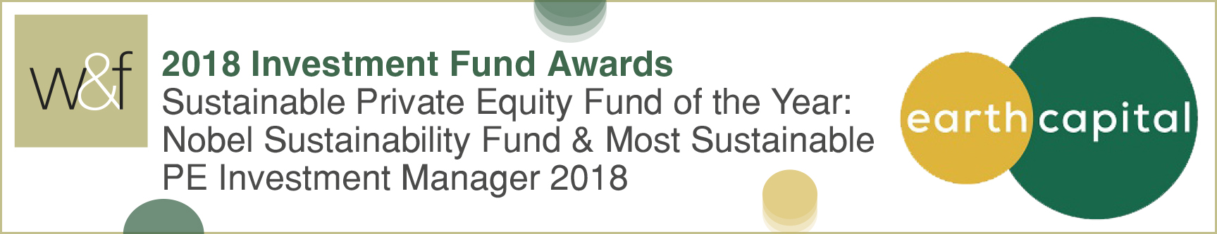 Logo of award for 'Investment Fund Awards 2018'