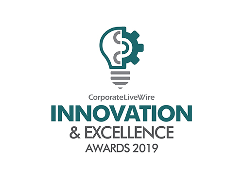 Logo of award for 'Innovation & Excellence Awards 2019 - Corporate LiveWire'