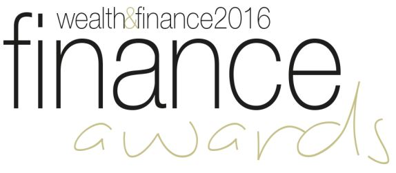Logo of award for 'Wealth & Finance'